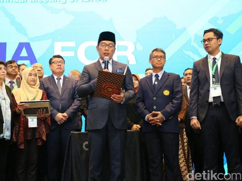 Konferensi Penyiaran, Ridwan Kamil Bacakan Deklarasi World Harmony