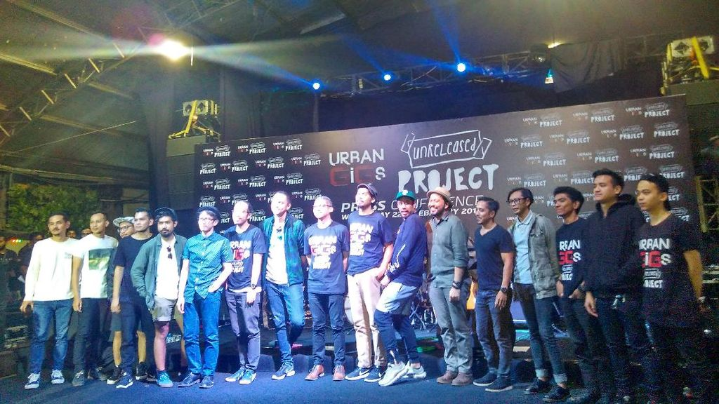 Urban Gigs x Unreleased Project Beri Kejutan Kolaborasi 12 Band Lintas Genre