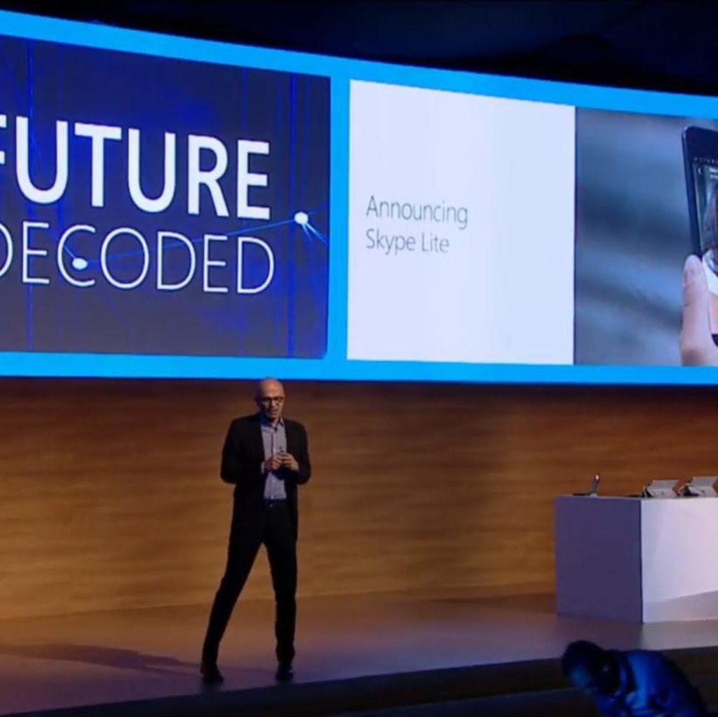 Microsoft Luncurkan Skype Lite untuk Internet Lemot