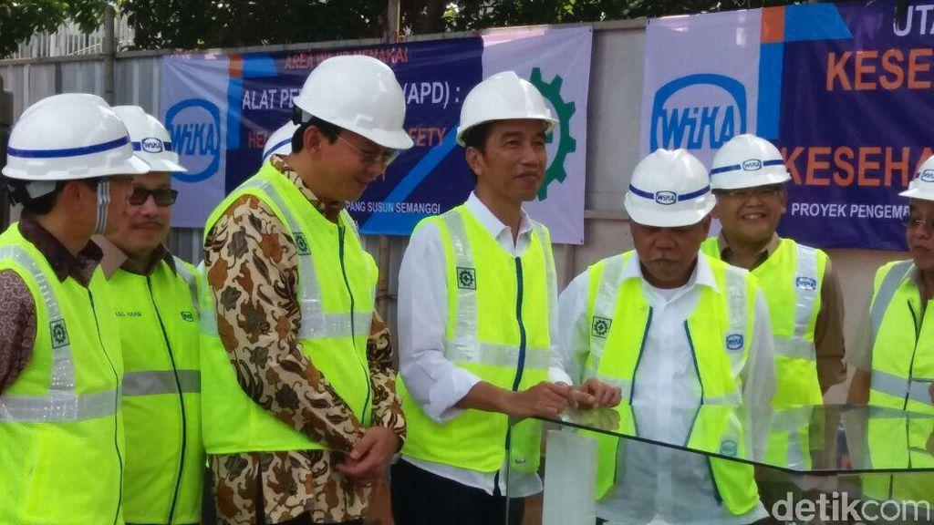 Jokowi: Terowongan MRT Sudah Tersambung, Maret 2019 Beroperasi