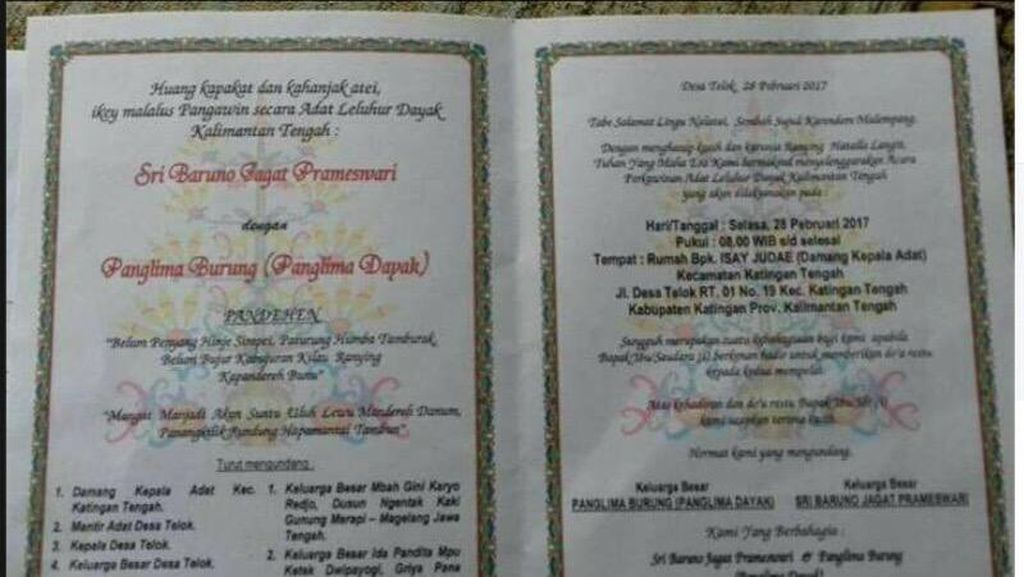 Pernikahan Gaib Titisan Nyi Roro Kidul Batal Digelar