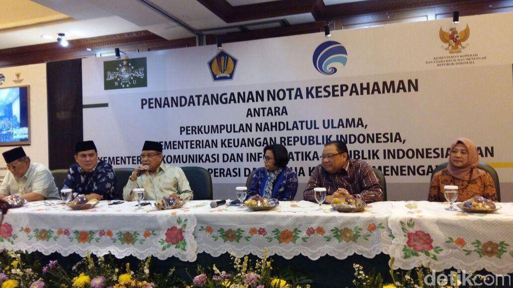 Sri Mulyani Ajak Anggota NU Aktif Bayar Pajak