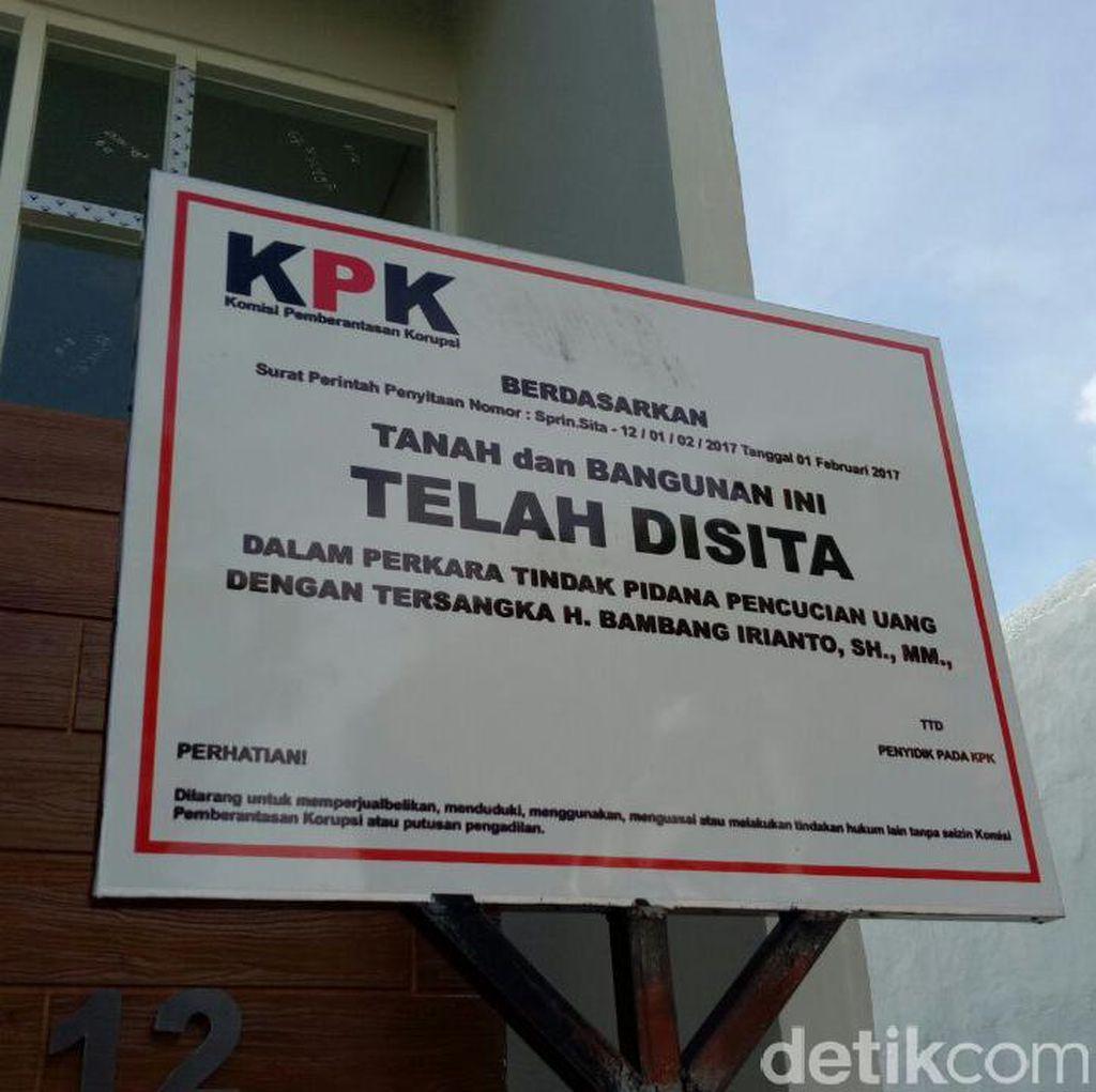 Rumah Wali Kota Madiun Bambang Irianto di Kediri Disita KPK