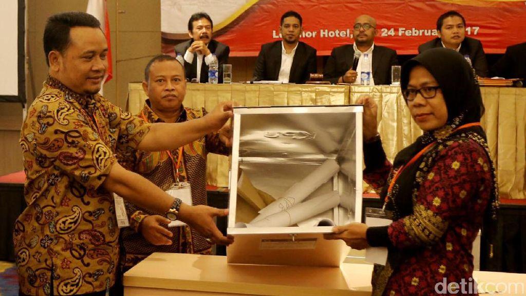 Rekapitulasi Suara Pilkada DKI di Jakarta Pusat