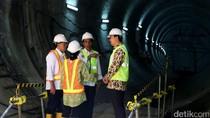 Jokowi Tinjau Proyek MRT