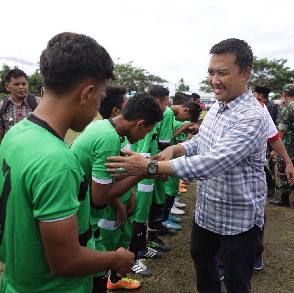 Gencarkan Kompetisi Usia Dini, Menpora Helat Turnamen di Halmahera Selatan