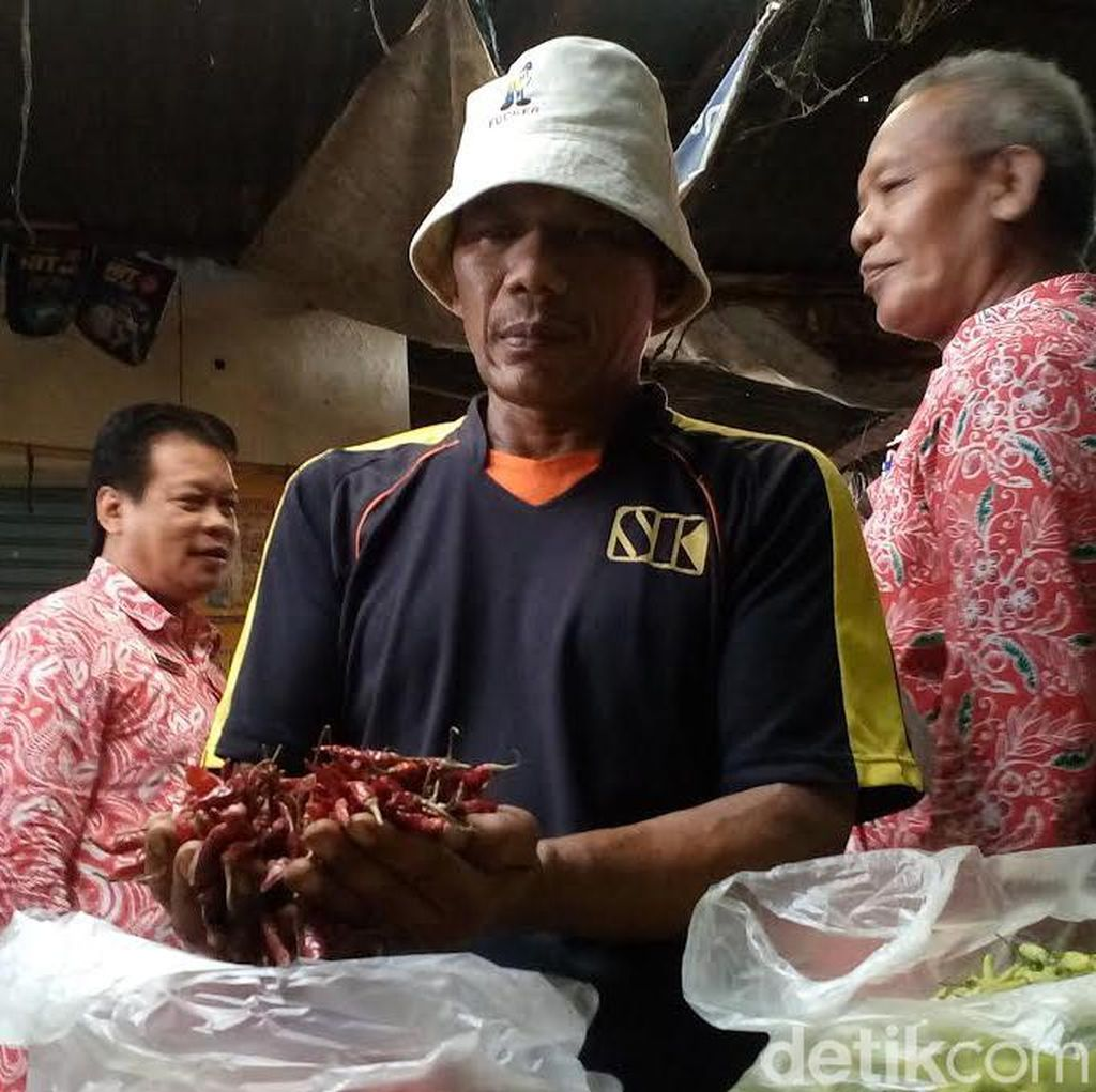 Cabai Impor di Kota Mojokerto Dirazia Disperindag