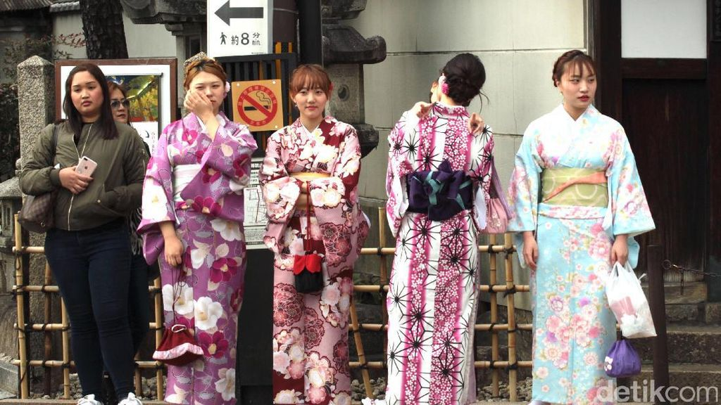 Mau Pakai Kimono Ala Bangsawan Jepang, Datang Saja ke Kyoto