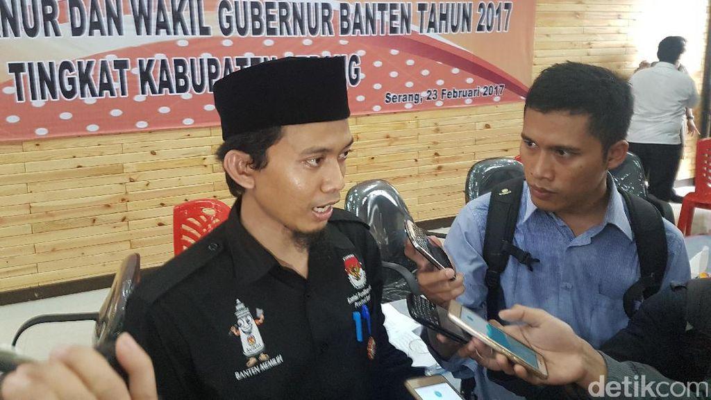KPU Kabupaten Serang: Pasangan WH-Andika Unggul