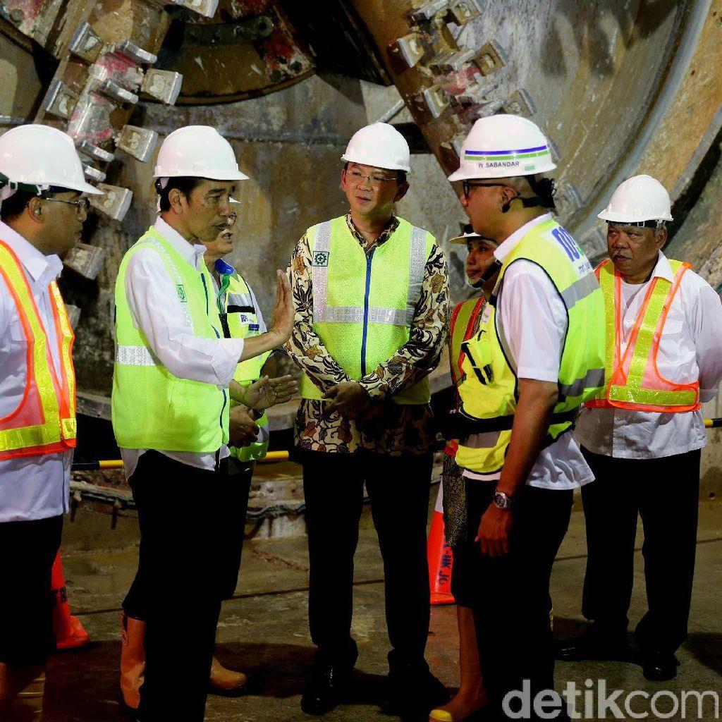 Ini yang Dibahas Jokowi dan Ahok di Mobil RI 1