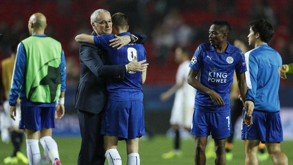 Ranieri Puji Performa Leicester di Babak Kedua