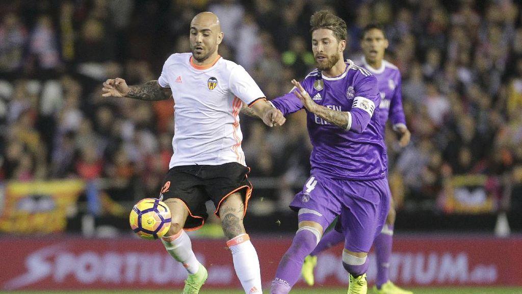 Madrid Tumbang di Mestalla, Ramos: Kendali Masih di Tangan Kami