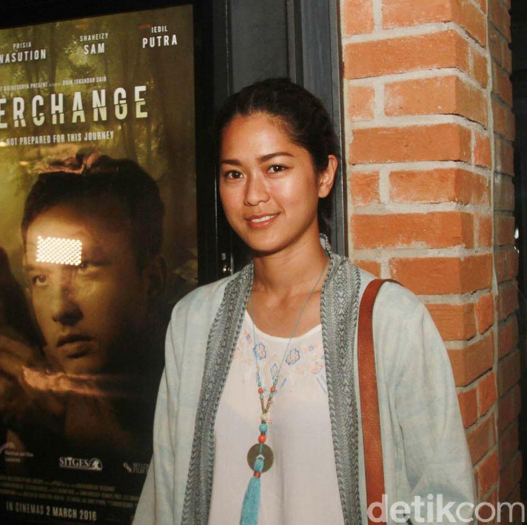 Perdana Main Horor, Prisia Nasution Berharap Bisa Saingi Film Thailand