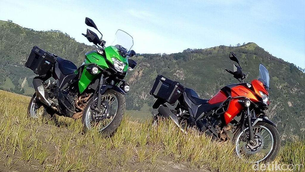 Bertualang Bersama Kawasaki Versys-X 250 di Bromo