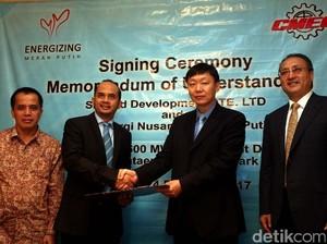 Kerja Sama Pengembangan Ketersediaan Energi, LNG dan Listrik