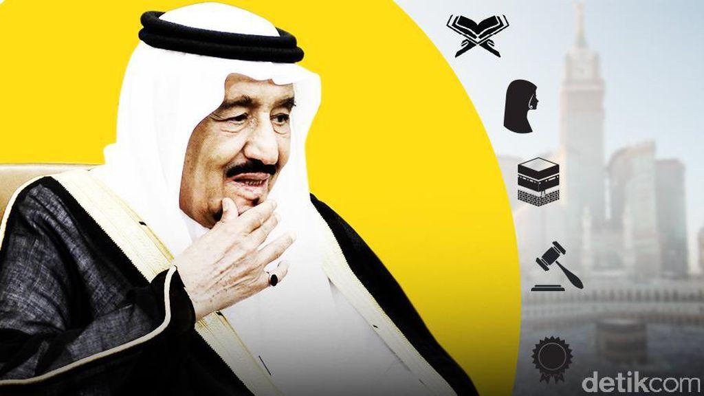 Polisi yang Ikut Pengamanan Raja Salman Dapat Naik Haji Gratis