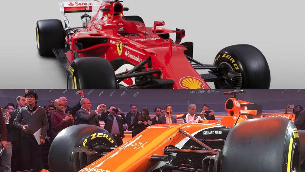Ferrari dan McLaren Pamerkan Mobil untuk F1 2017
