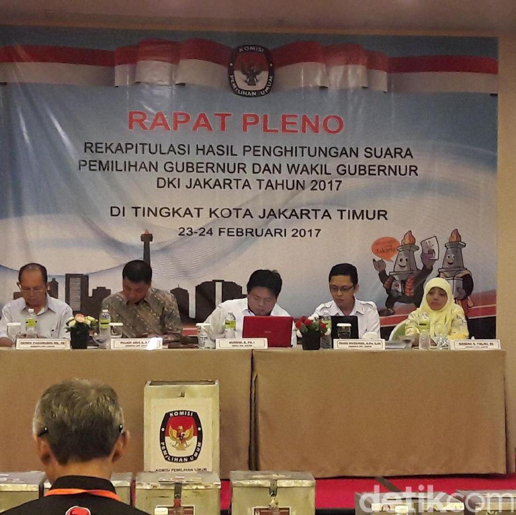 Timses Ahok Sebut Ada Intervensi di TPS 23 Jatinegara Kaum
