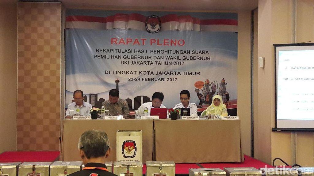 Kata Ketua KPU Jaktim soal Anies dan Agus 0 Suara di TPS Cililitan