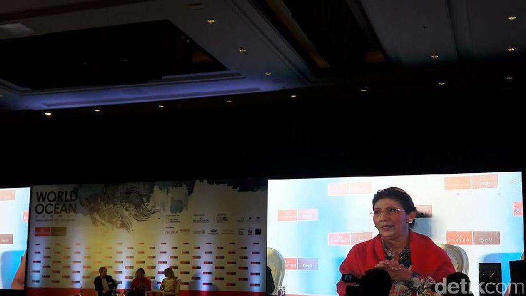 Di Forum Internasional, Susi Cerita Penenggelaman Kapal Asing