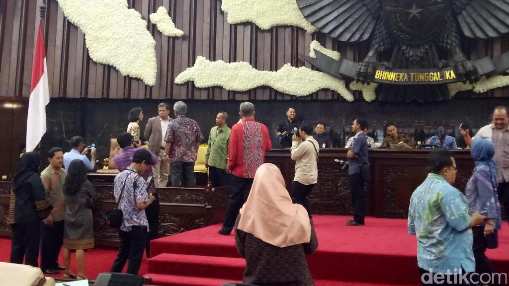 Fahri Hamzah: Persiapan DPR Sambut Raja Salman Sudah 70 Persen