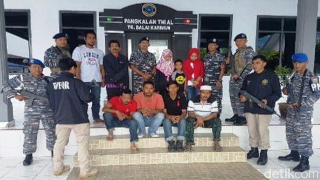 TNI AL di Kepri Gagalkan Penyelundupan TKI ke Malaysia