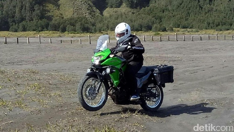 Lampu Belakang Bermasalah, Kawasaki Tarik 811 Versys-X 250