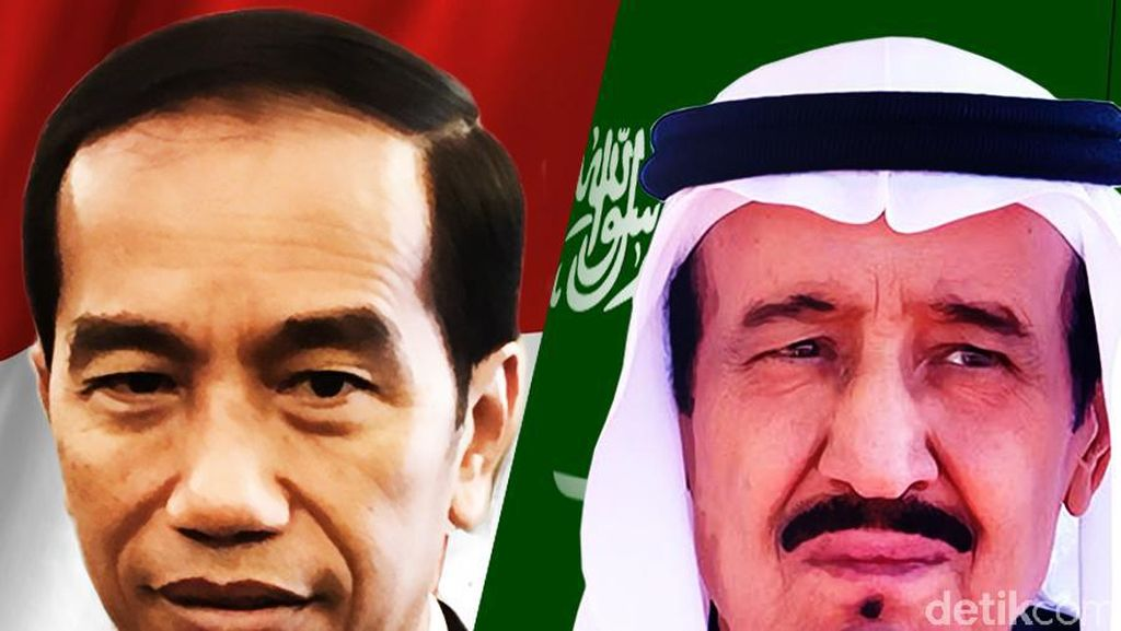 Raja Salman Datang, Jokowi Bisa Sekali Mendayung Lampaui 2 Pulau