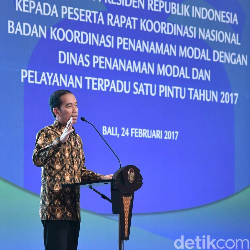 Jokowi Ingin Investor Tahu Seluruh Perbaikan di RI