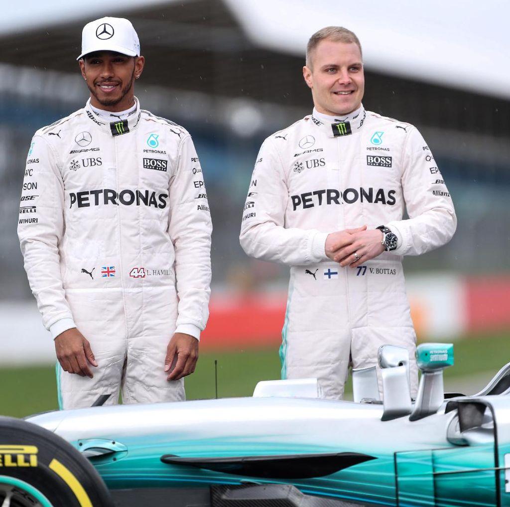 Hamilton Nantikan Rivalitas dengan Bottas