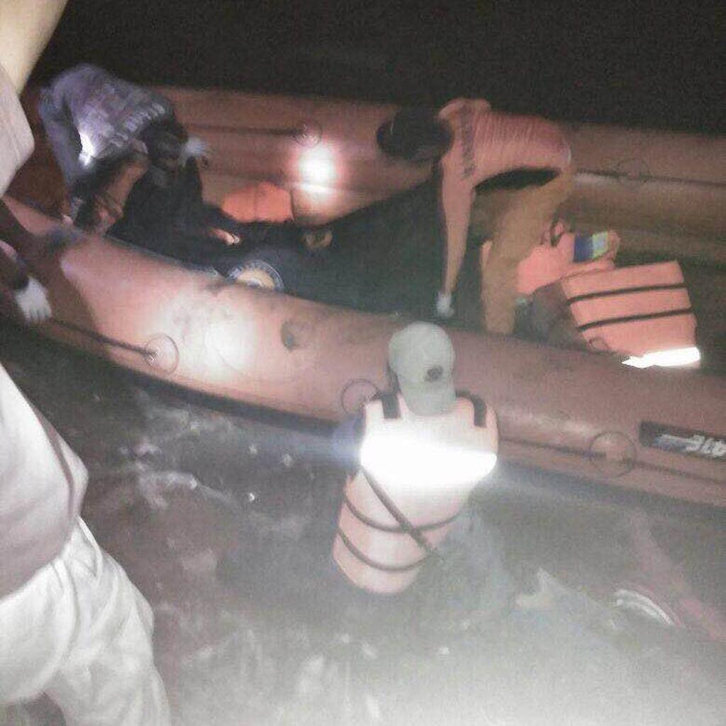 Anak yang Hanyut di Sungai Ciliwung Ditemukan