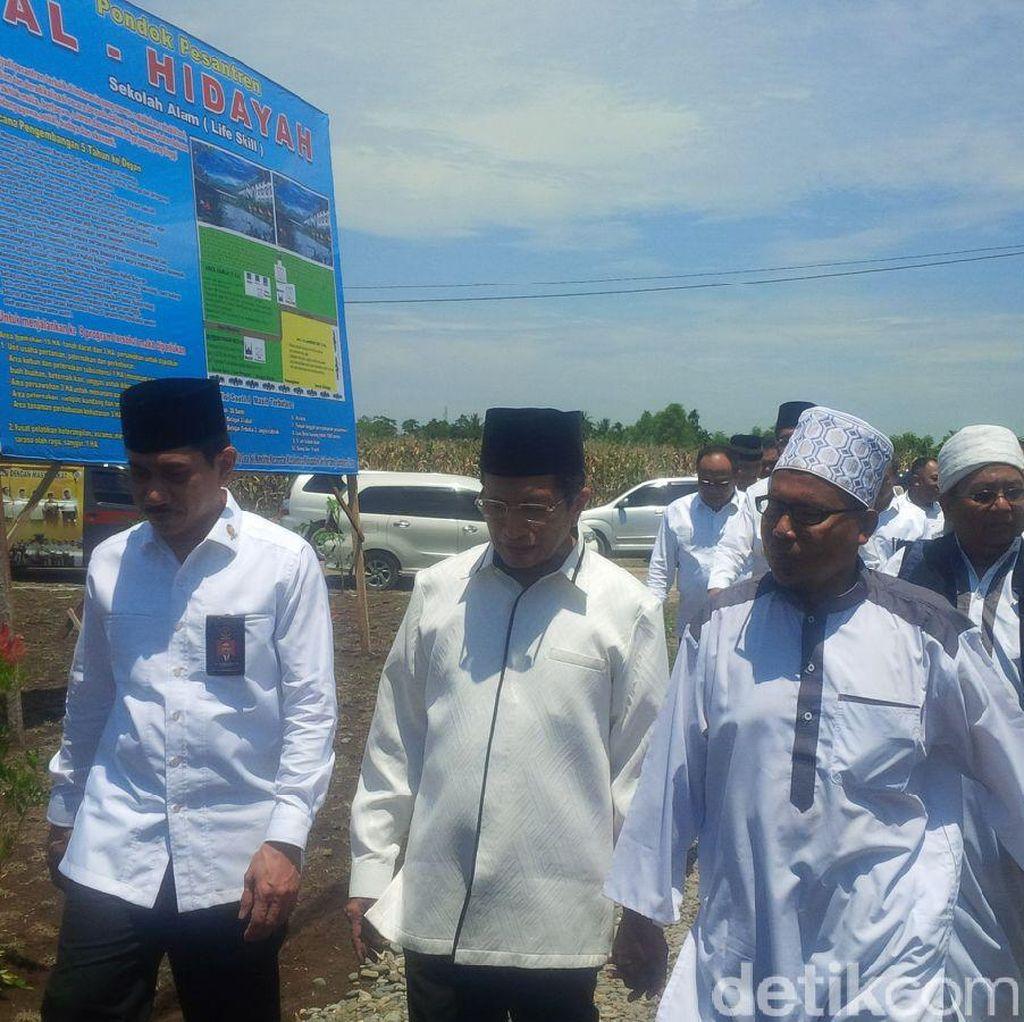 Kepala BNPT Resmikan Masjid dan Ruang Belajar di Deli Serdang