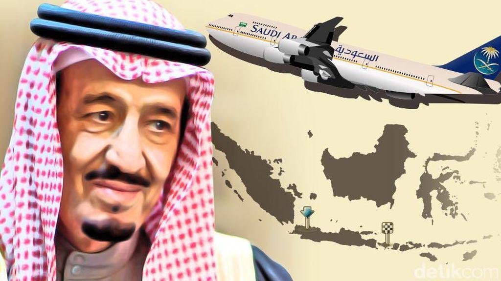 Kunjungan Megah Raja Salman