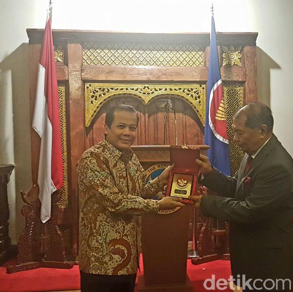 Momen Silaturami Delegasi DPR dengan Diaspora Indonesia di Ceko