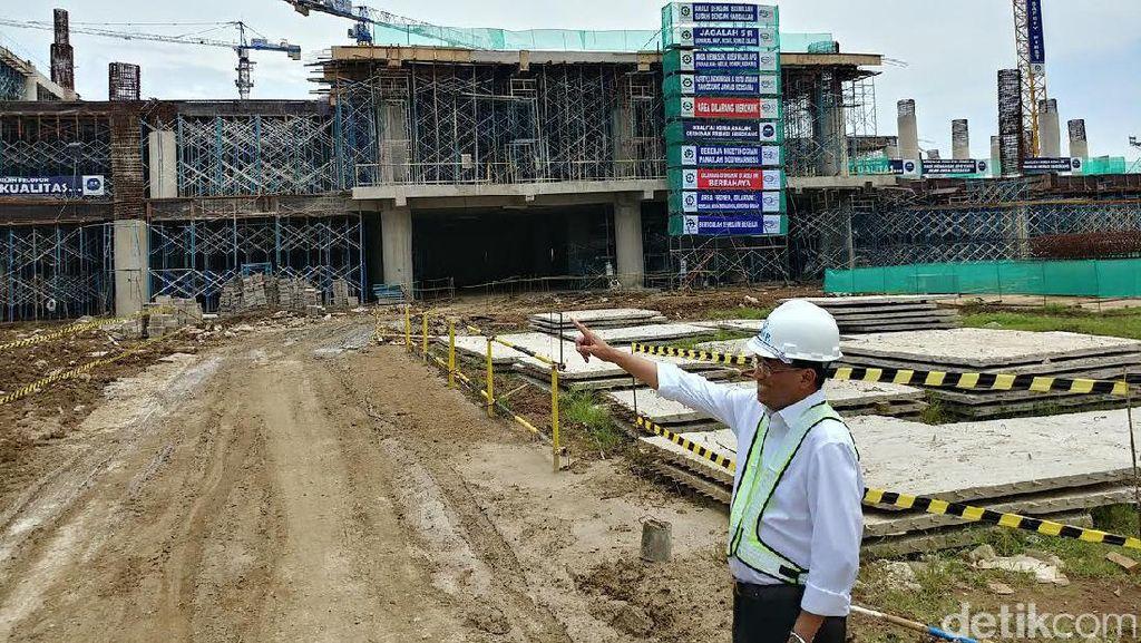 Jokowi Sebut Proyek Bandara Kertajati Lambat, Ini Kata Menhub