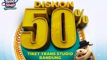 Liburan ke Trans Studio Bandung, Ada Diskon 50 Persen