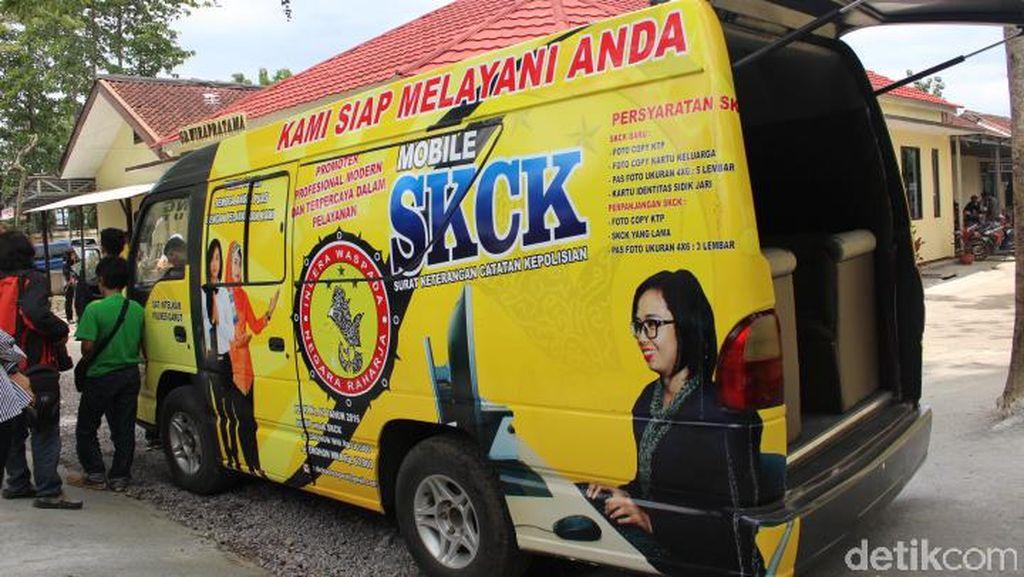 Ambulans Disulap Jadi SKCK Keliling akan Keliling Pelosok Garut