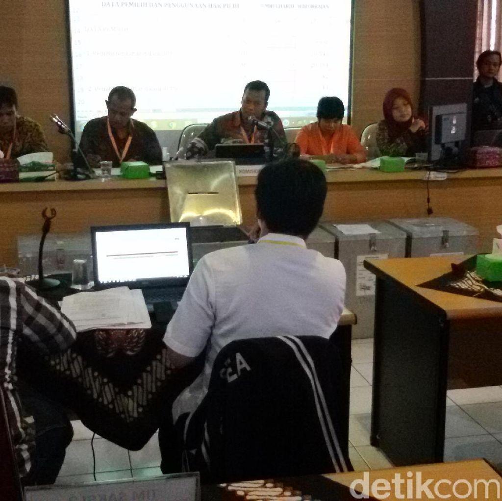 KPU Yogyakarta Buka Kotak Surat Suara