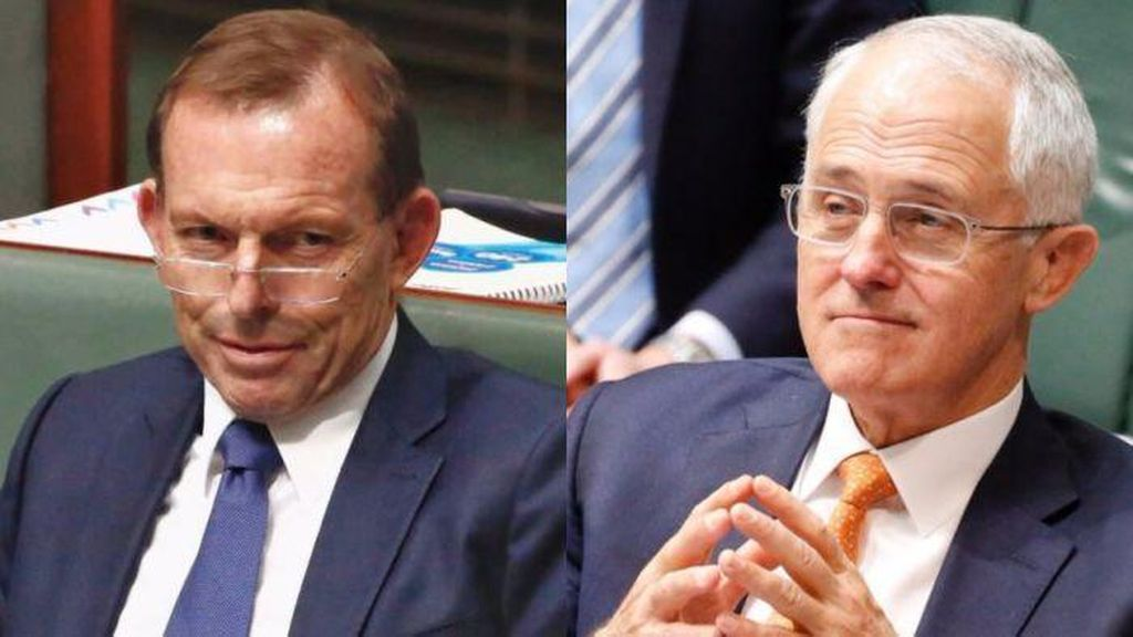 Tony Abbott Kembali Kritik Malcolm Turnbull