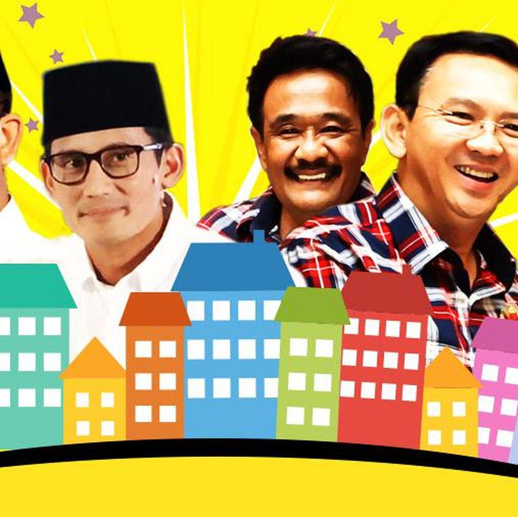 Debat Djarot Vs Sandi soal Program Rumah Rp 350 Juta di Jakarta