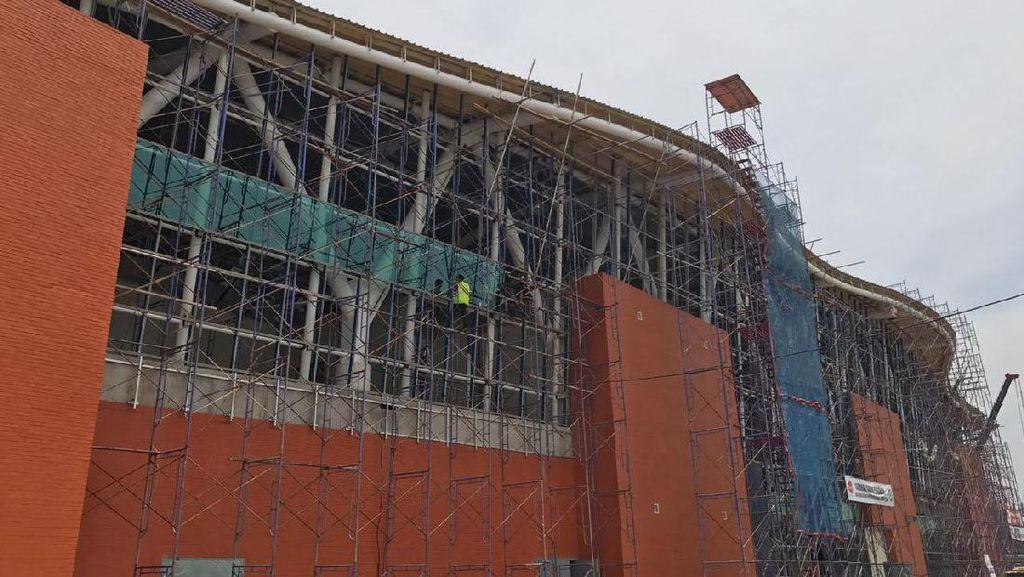 Pembangunan Stasiun Kereta Bandara Soetta Rampung Maret 2017