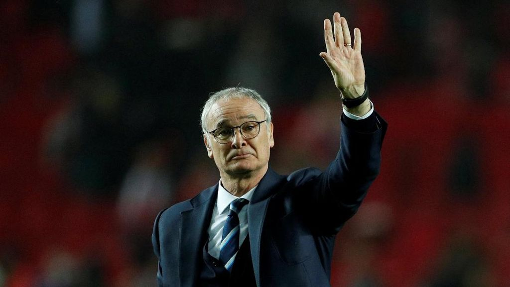 Ranieri Ucapkan Selamat Tinggal pada Leicester