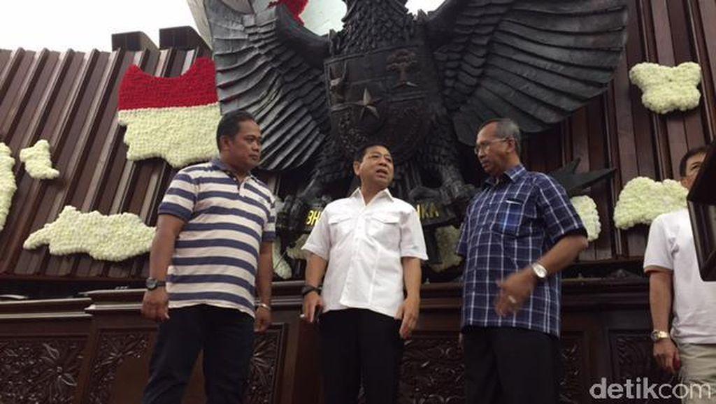 Setya Novanto Cek Kesiapan DPR Sambut Kunjungan Raja Salman