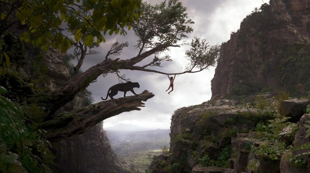Jungle Book Terbaik di Visual Effects