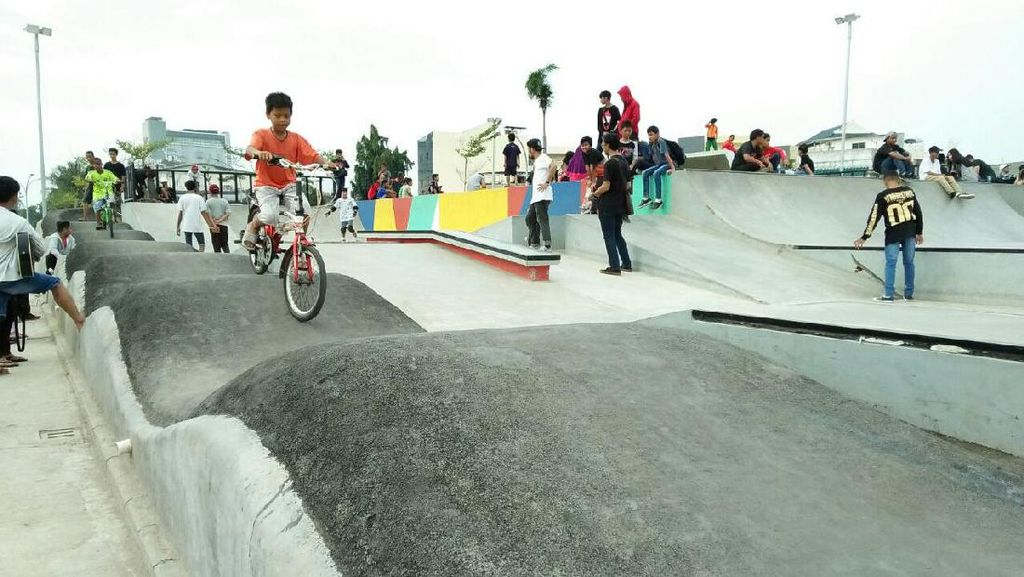 Ahok Ingin Arena BMX di Kalijodo Jadi Venue Asian Games