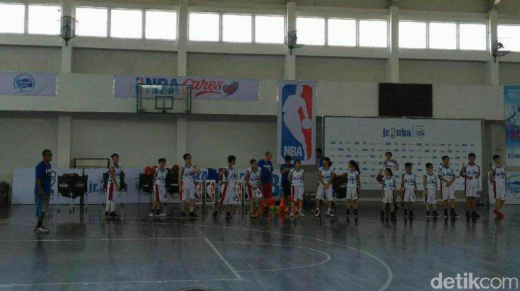 Program Jr. NBA Digelar di Surabaya