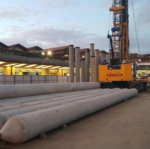 Penampakan Terkini Proyek Skytrain Bandara Soekarno-Hatta