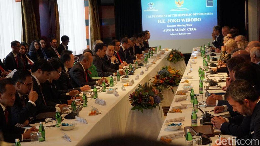 Tiba di Sydney, Jokowi Gelar Pertemuan dengan Pengusaha Australia