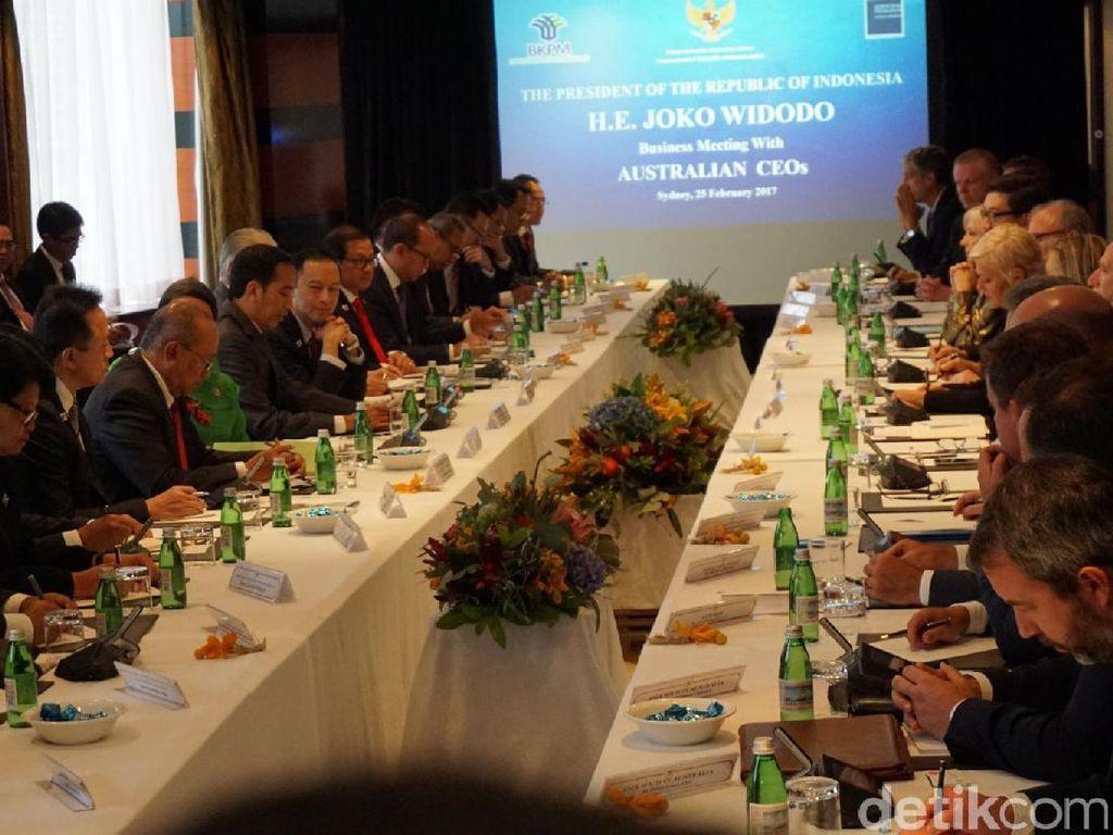 Di Sydney, Jokowi: Kami Menghadapi Tantangan Politik, Terutama di DKI
