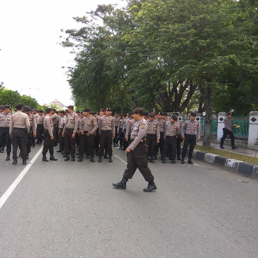 Sidang Pleno KIP Aceh Digelar, Pengamanan Diperketat